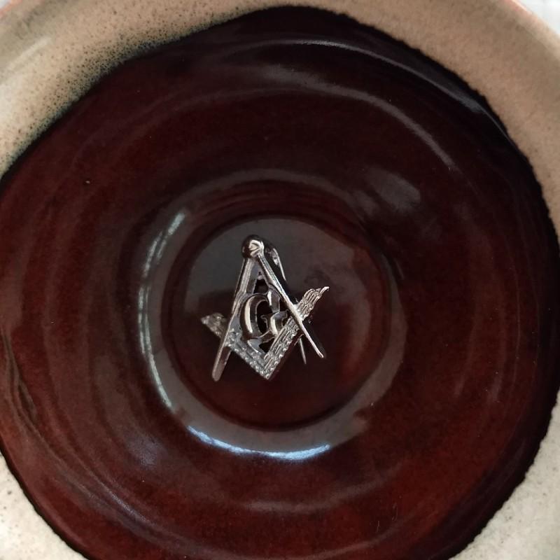 Imagem - Broche Maçonaria 20mm cód: 5689-R