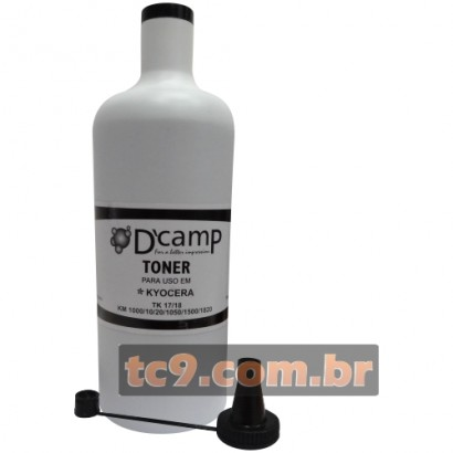 Refil de Toner Kyocera Mita TK17 | TK-17 | TK18 | TK-18 | TK20 | TK50 | TK57 | TK60 | TK67 | TK100 | TK-100 | TK112 | TK122 | 1Kg | DCamp