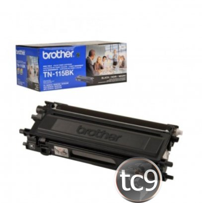 Cartucho de Toner Brother TN-115BK | 115BK | Preto | Original