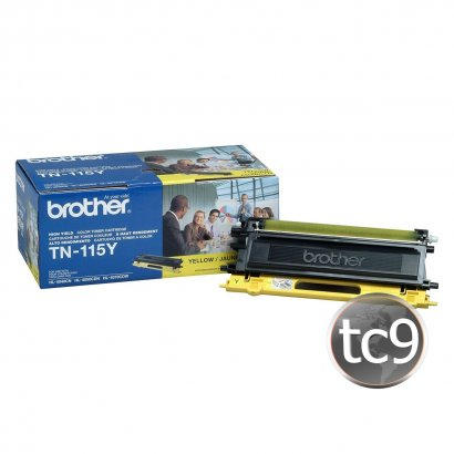 Cartucho de Toner Brother TN-115Y | 115Y | Amarelo | Original