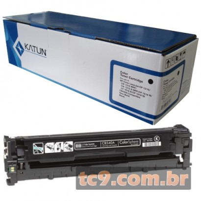 Cartucho de Toner HP CB540A | 40A | CP1215 | CP1515 | CM1312 | CP1518 | Preto | Katun