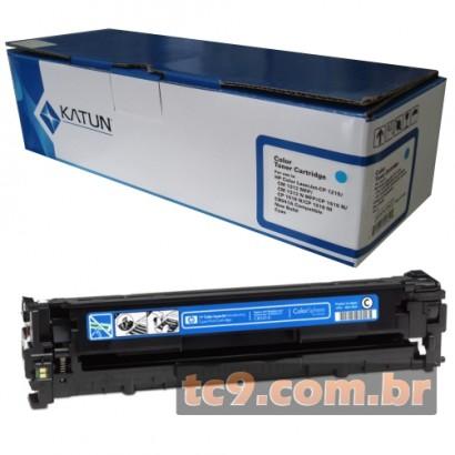 Cartucho de Toner HP CB541A | 41A | CP1215 | CP1515 | CP1518 | CM1312 | Ciano | Katun