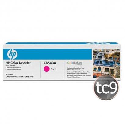 Cartucho de Toner HP CB543A | 43A | CP1215 | CP1515 | CM1312 | CP1518 | Magenta | Original