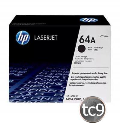 Cartucho de Toner HP CC364A | 364A | 64A | P4014 | P4014DN | P4015 | P4015DN | P4515 | P4515N | Original
