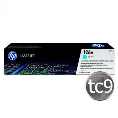 Cartucho de Toner HP CE311A | 311A | 126A | CP1025 | CP1025NW | M175A | M175NW | Ciano | Original