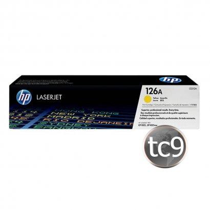 Cartucho de Toner HP CE312A | 312A | 126A | CP1025 | CP1025NW | M175A | M175NW | Amarelo | Original