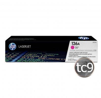 Cartucho de Toner HP CE313A | 313A | 126A | CP1025 | CP1025NW | M175A | M175NW | Magenta | Original