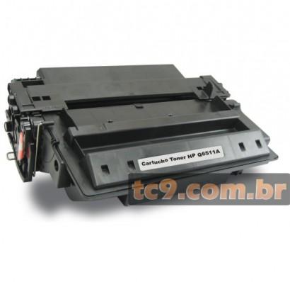 Cartucho de Toner HP LaserJet Q6511A | 11A | 2400 | 2410 | 2420 | 2430 | Compatível