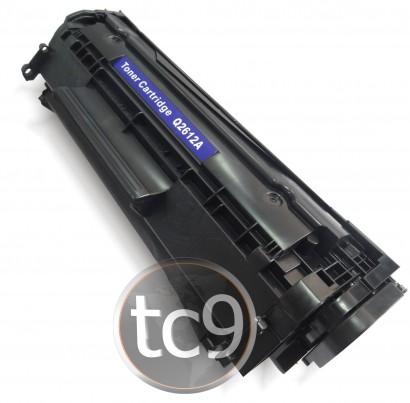 Cartucho de Toner HP Q2612A | 2612A | 12A | 1010 | 1018 | 1020 | 1022 | 3015 | 3020 | 3030 | 3050 | M1005 | M1319 | Compatível