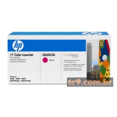 Cartucho de toner HP Q6003A | Magenta | Original