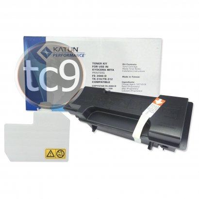 Cartucho de Toner Kyocera Mita FS-2000 | FS-2000D | TK-310 | TK-312 | Katun Performance