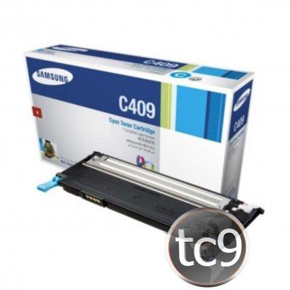 Cartucho de Toner Samsung CLP-310 | CLP-315 | CLX-3170 | CLX-3175 | CLT-C409S | C409 | Ciano | Original