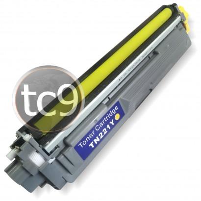 Cartucho Toner Brother HL-3140   HL-3170   DCP-9020   MFC-9130   MFC-9330   MFC-9020   MFC-9130   TN221Y   TN225Y   TN245Y   TN255Y   TN265Y   TN285Y   YELLOW   Compatível