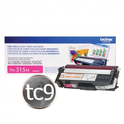 Cartucho Toner Brother HL-4150 | HL-4570 | MFC-9460 | MFC-9560 | MFC-9970 | TN-315 | TN-315M | TN315M | Original