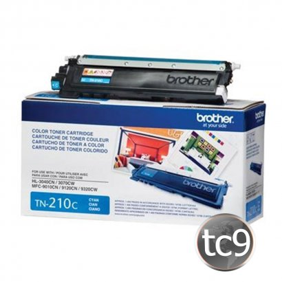 Cartucho Toner Brother MFC-9010 | MFC-9120 | MFC-9125 | MFC-9320 | HL-3040 | HL-3070 | HL-3075 | TN-210C | TN210C | Ciano | Original