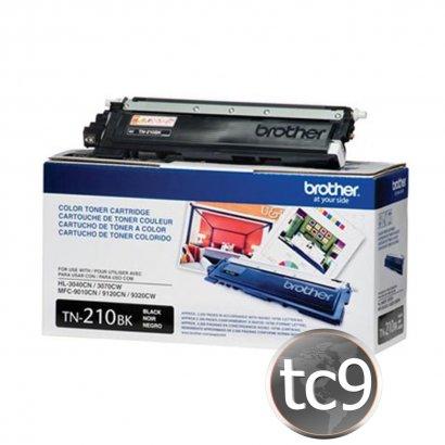 Cartucho Toner Brother MFC-9010   MFC-9120   MFC-9125   MFC-9320   HL-3040   HL-3070   HL-3075   TN-210K   TN210K   Preto   Original