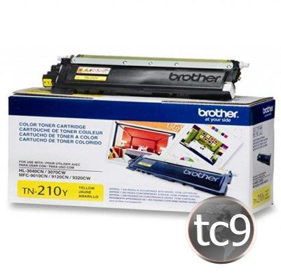 Cartucho Toner Brother MFC-9010 | MFC-9120 | MFC-9125 | MFC-9320 | HL-3040 | HL-3070 | HL-3075 | TN-210Y | TN210Y | Amarelo | Original
