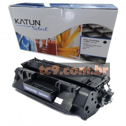 Cartucho Toner HP CE505A | 05A | P2035 | P2035N | P2055 | P2055N | P2055DN | Katun
