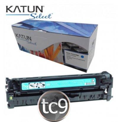 Cartucho Toner HP Color LaserJet CP2020 | CP2025 | CM2320 | CC531A | 531A | Ciano | Katun