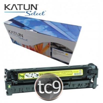 Cartucho Toner HP Color LaserJet CP2020 | CP2025 | CM2320 | CC532A | 532A | Amarelo | Katun