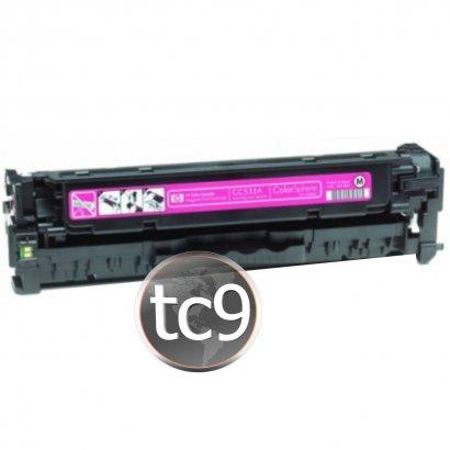 Cartucho Toner HP Color M351 | M451 | M475 | CP2025 | CM2320 | CC533A | CE412A | 305A | Magenta | Compatível