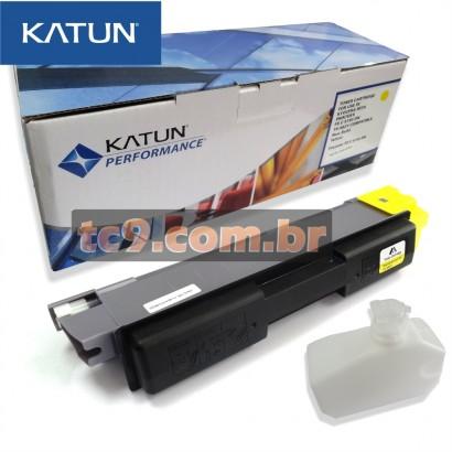 Cartucho Toner Kyocera FS-C5150 | FS-C5150DN | TK-582Y | TK582Y | Amarelo | Katun Performance