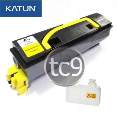 Cartucho Toner Kyocera Mita FS-C5300 | FS-C5300DN | FS-C5350 | FS-C5350DN | TK-562Y | TK562Y | Amarelo | Katun Performance