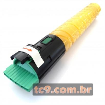 Cartucho Toner Ricoh Aficio MPC2031 | MPC2051 | MPC2531 | MPC2551 | Amarelo | 841283 | Compatível