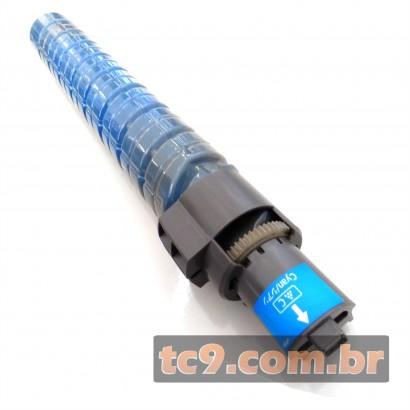 Cartucho Toner Ricoh Aficio SPC820 | SPC820DN | SPC821 | SPC821DN | 821029 | Ciano | Compatível
