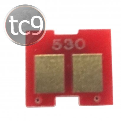 Chip HP Color LaserJet CC530A | 530A | CP2020 | CP2025 | CM2320 | Preto