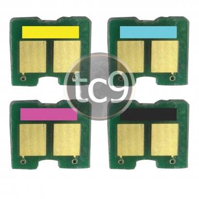 Kit Chip HP CB540A | CB541A | CB542A | CB543A | 40A | 41A | 42A| 43A | CP1215 | CP1515 | CP1518 | CM1312 | Preto | Ciano | Magenta | Amarelo