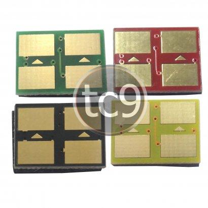 Kit Chip Samsung | K300A | M300A | C300A | Y300A | Preto | Magenta | Ciano | Amarelo