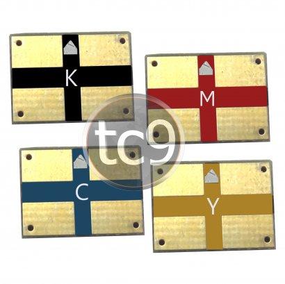 Kit Chip Xerox Phaser | 6110K | 6110C | 6110M | 6110Y | Preto | Ciano | Magenta | Amarelo