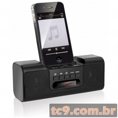 MP3 Dock - FM / USB para iPhone