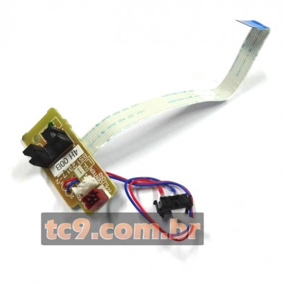 Placa Conector Fusor Brother DCP-7055 | DCP-7060 | DCP-7065 | MFC-7360 | MFC-7460 | MFC-7860 | HL-2280 | LV0579001 | Original