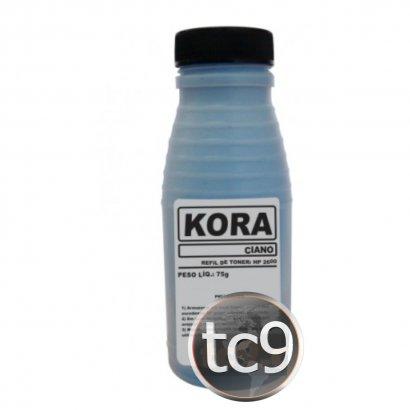 Refil de Toner HP Color LaserJet 2600 | Q6001A | Ciano | Kora