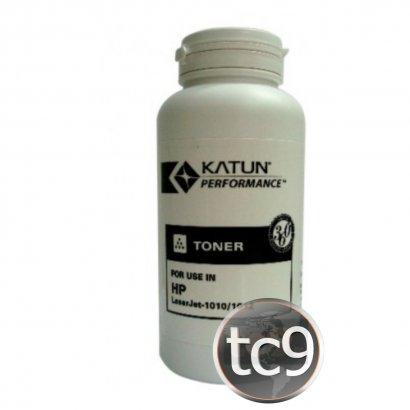 Refil de Toner Q2612A | 12A | 1010 | 1012 | 1015 | 1018 | 1020 | 1022 | Katun | 100g