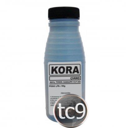 Refil de Toner Samsung CLP-300 | CLP-315 | CLX-2160 | CLX-3170 | CLX-3175 | CLX-3185 | CLP-C300A | CLT-C407 | CLT-C409 | Ciano | Kora