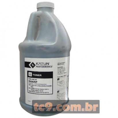 Refil de Toner Sharp AL-1000 | AL-1530 | AL-1631 | AL-1641 | AL-2030 | AL-2040 | AL-5220 | AR-275 | AR-277 | AR-M208 | AR-M277 | 610g | Katun Performance