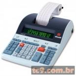 Imagem - Calculadora Olivetti Logos 802B | Calculadora de Mesa Profissional com Impressão