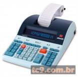 Imagem - Calculadora Olivetti Logos 804B | Calculadora de Mesa Profissional com Impressão