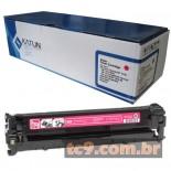 Cartucho de Toner Compatível HP CB543A | 43A | Magenta | Katun