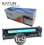 Imagem - Cartucho Toner HP Color LaserJet CP2020 | CP2025 | CM2320 | CC531A | 531A | Ciano | Katun