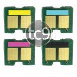 Imagem - Kit Chip HP CB540A | CB541A | CB542A | CB543A | 40A | 41A | 42A| 43A | CP1215 | CP1515 | CP1518 |...