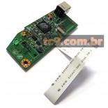Imagem - Placa Principal HP LaserJet P1102 | RM1-7600-000CN | CE668-6001 | Original