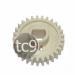 Engrenagem Rolo Pressão HP LaserJet P2035   P2035N   P2055   P2055N   P2055DN   Compatível