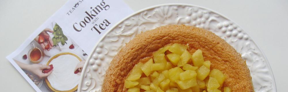 Aprenda a fazer um bolo com calda de chá