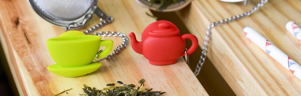 Praticidade e descontração: os pingentes Tea Shop
