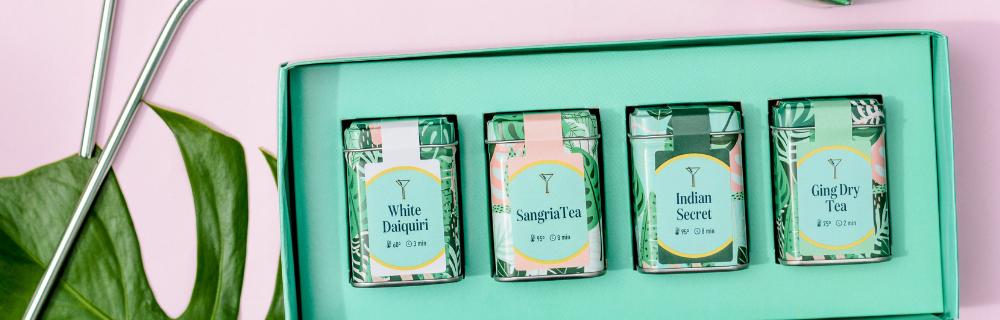 Drinks com chá: White Daiquiri