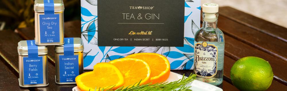 Gin e chá: um match perfeito